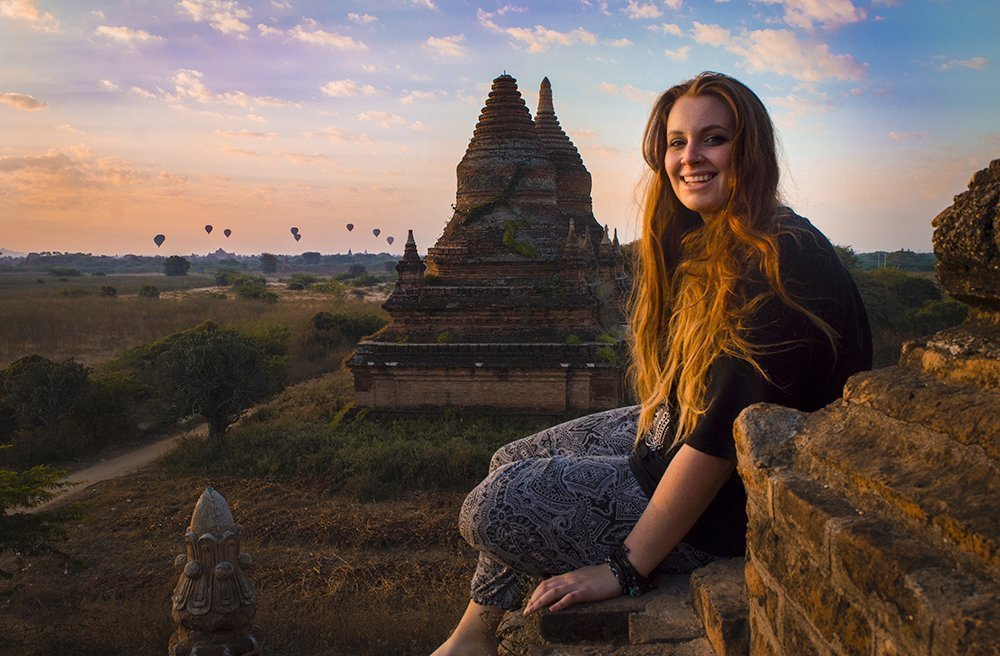 smile bagan myanmar
