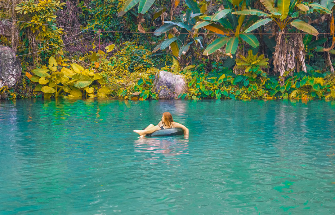 Exploring Blue Lagoon Three in Vang Vieng, Laos | Blue Lagoon | Waterpark | Adventure | Backpack South East Asia | Travel | Backpacking | Must Visit | Do Not Miss | Laos | Vang Vieng | Adventure | Photography | Backpackers Wanderlust | #vangvieng #laos #bluelagoon #travel #adventure #nature #explore
