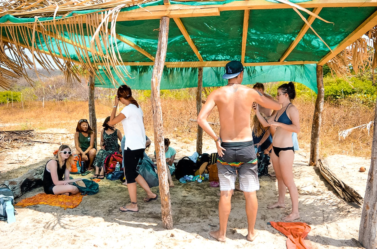 Day Trip in Playa Guiones | Travel Central America | Playa Guiones | Hike | Surfing | Surf | Beach | Backpacking Costa Rica | Kayaking | What to do | Where to sleep | Swimming | Tubing | Backpackers Wanderlust |