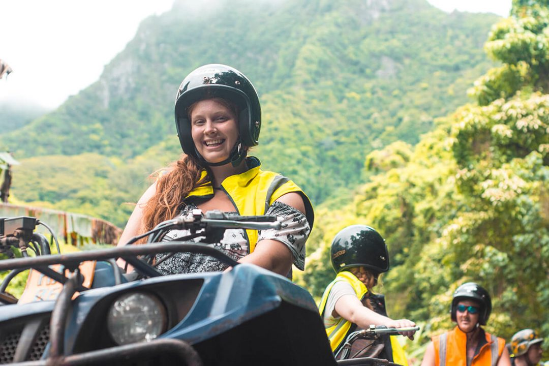 Quad Biking Inland Rarotonga With Raro Quad Tours | The Cook Islands | Rarotonga | Adventure | South Pacific | Travel | Backpacking | Tours | Do Not Miss | Exciting | Ocean | Beautiful beach | Island life | Photography | Raro Quad Tours | Backpackers Wanderlust |