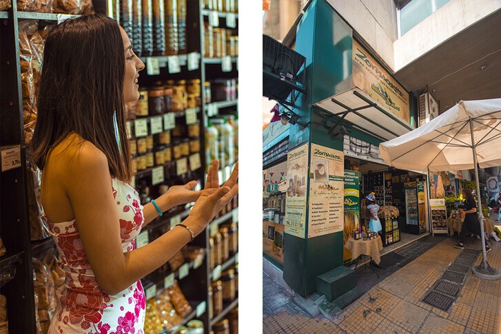 athens walking tours cretan store