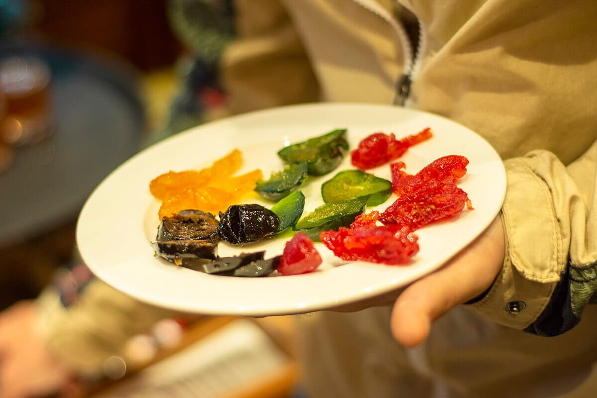 candied fruit best food in istanbul