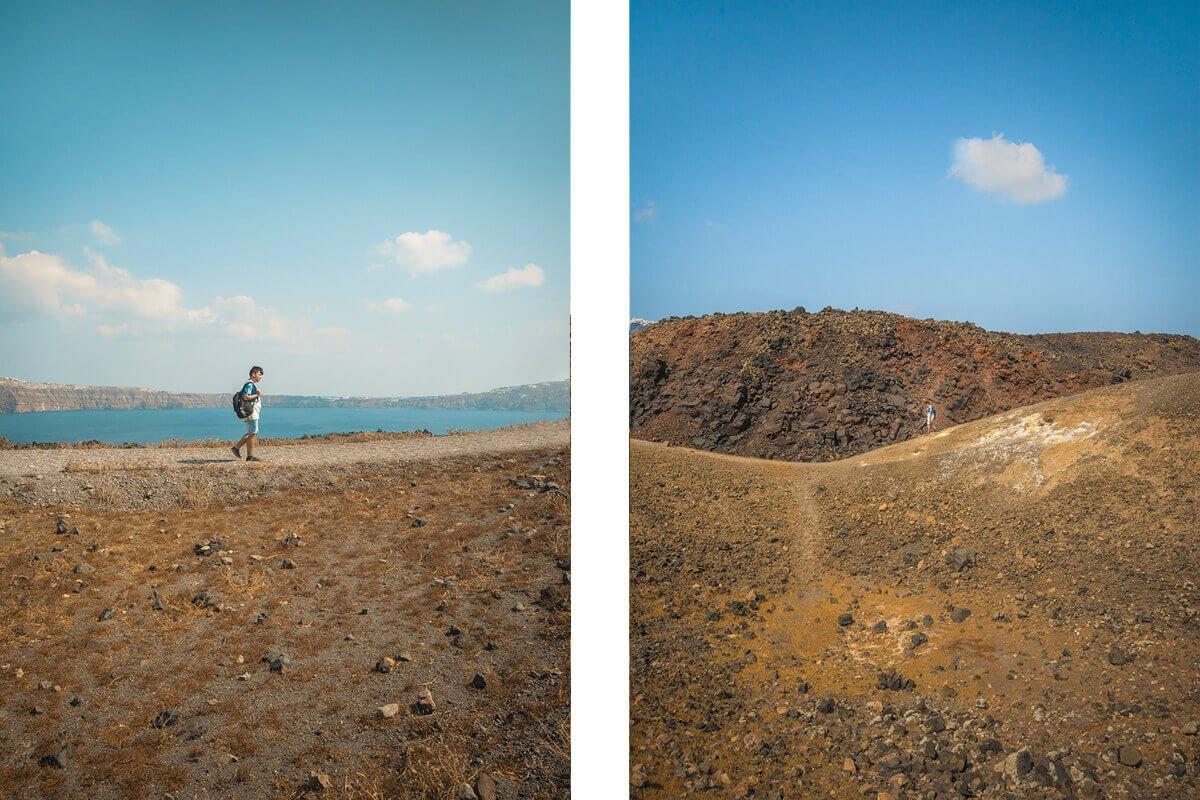 nea kameni sailboat volcano tour landscapes