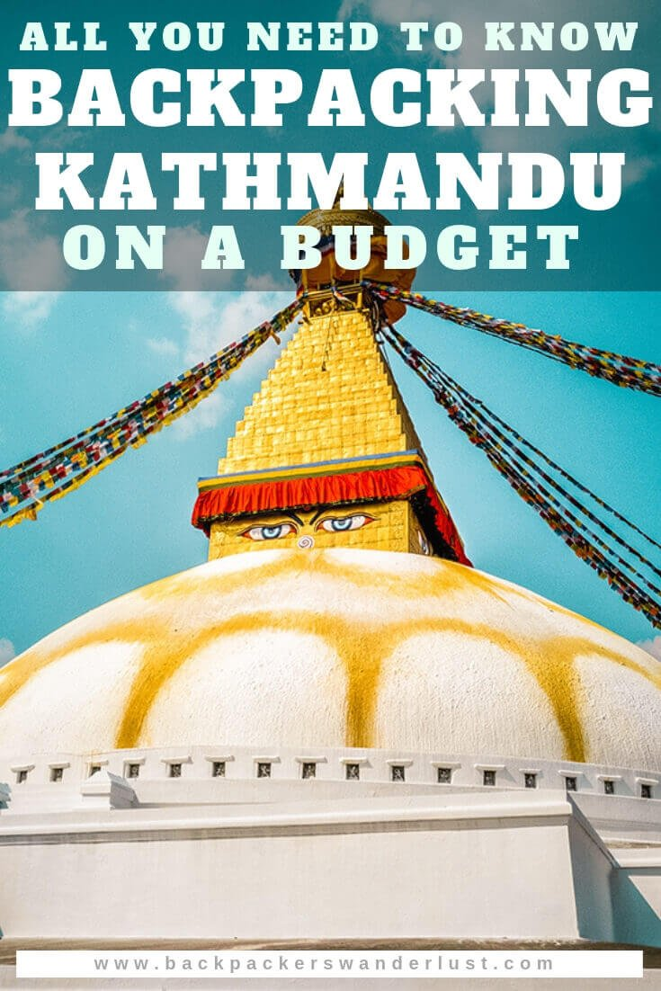 In this backpacking Kathmandu travel guide, I will let you in on all the top things to do in Kathmandu, where to sleep, eat and more while exploring Nepal! It is a city full of culture and amazing sights.