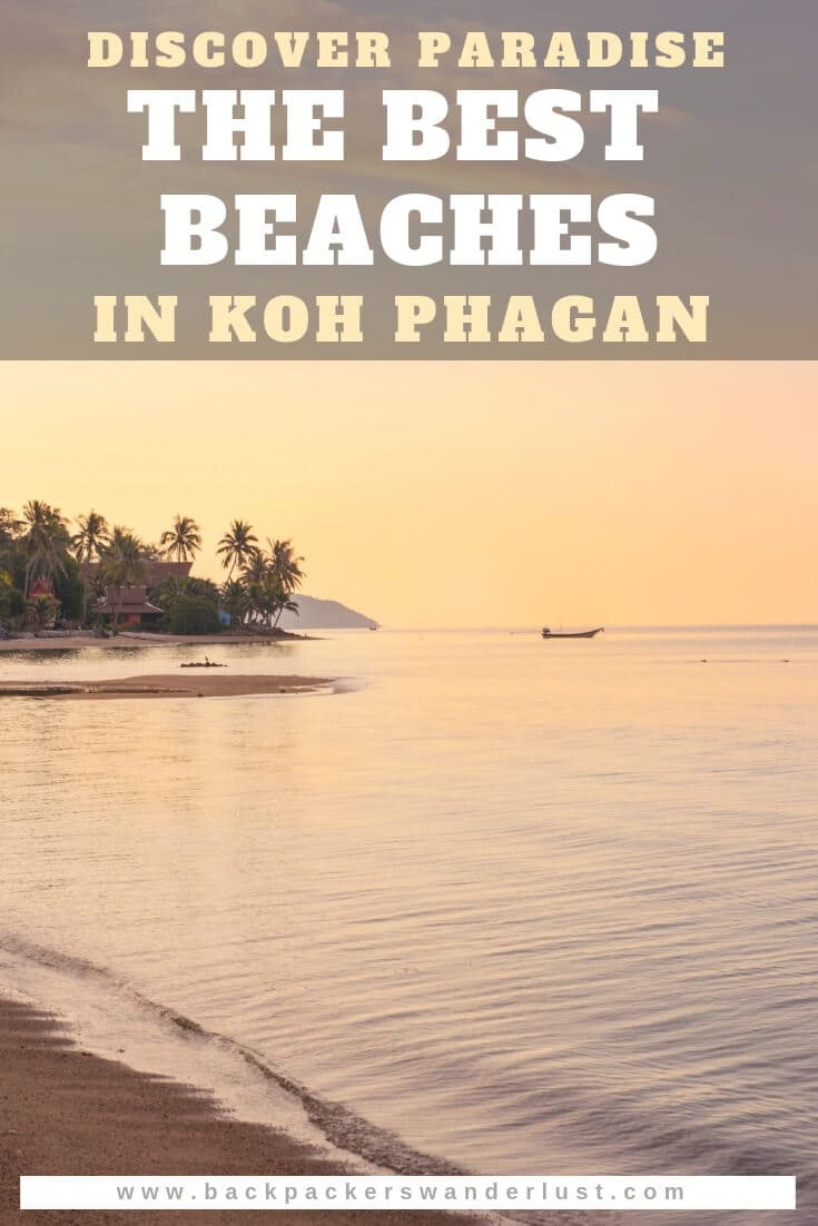 Get ready for blue seas, white sand and gorgeousviews as I list the best beaches in Koh Phangan! The definition of paradise, Koh Phangan has tourists flocking there all year around, including for the full moon party. Though, if you are willing to explore you will come across the best beaches in Koh Phangan making this island a must visit while backpacking Thailand.
