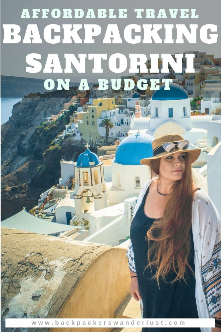 In this backpacking Santorini travel guide, I will let you in on all the top things to do in Santorini, the best attractions, where to sleep, eat and more! Santorini is not your typical backpacker's destination. Though, when doing some research you will quickly learn that it is possible to be backpacking Santorini on a budget.