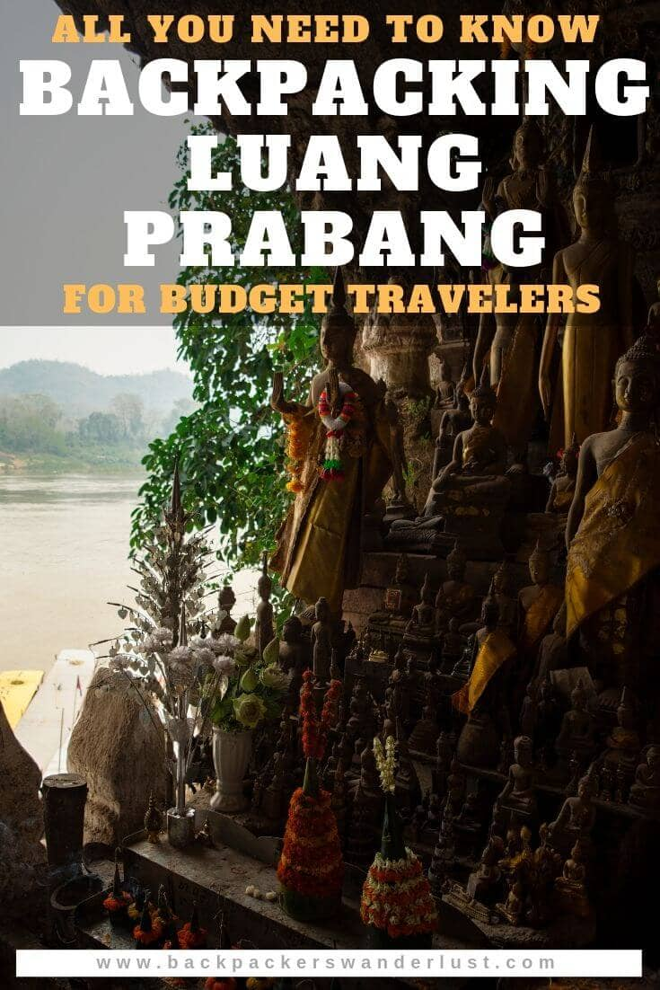 Find out the about all you need to know about backpacking Luang Prabang on a budget. I will be giving you all the information you need to know such as costs, getting around, accommodation, what to do and so much more!