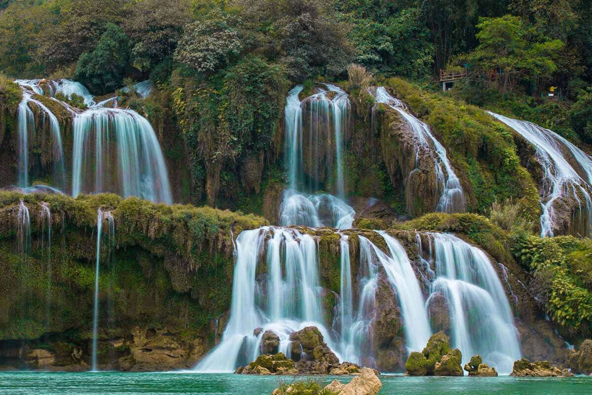 ban gioc waterfall best things to do in vietnam