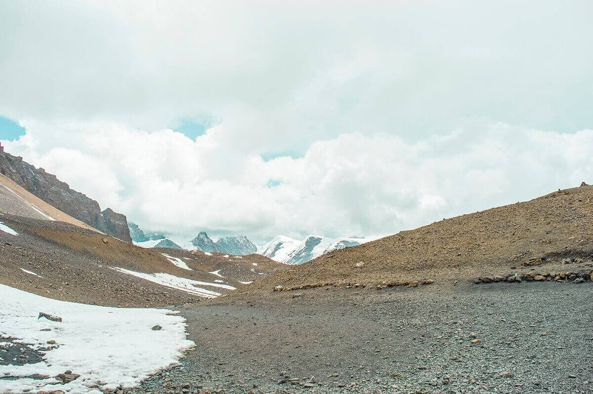 false passes high camp to muktinath over thorong la pass on the annapurna circuit