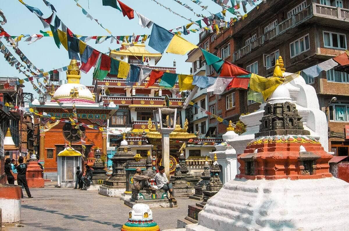 kathmandu durbar square backpacking
