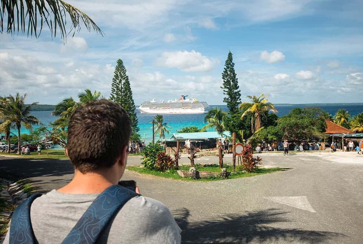 lifou new caledonia on the carnival spirit review