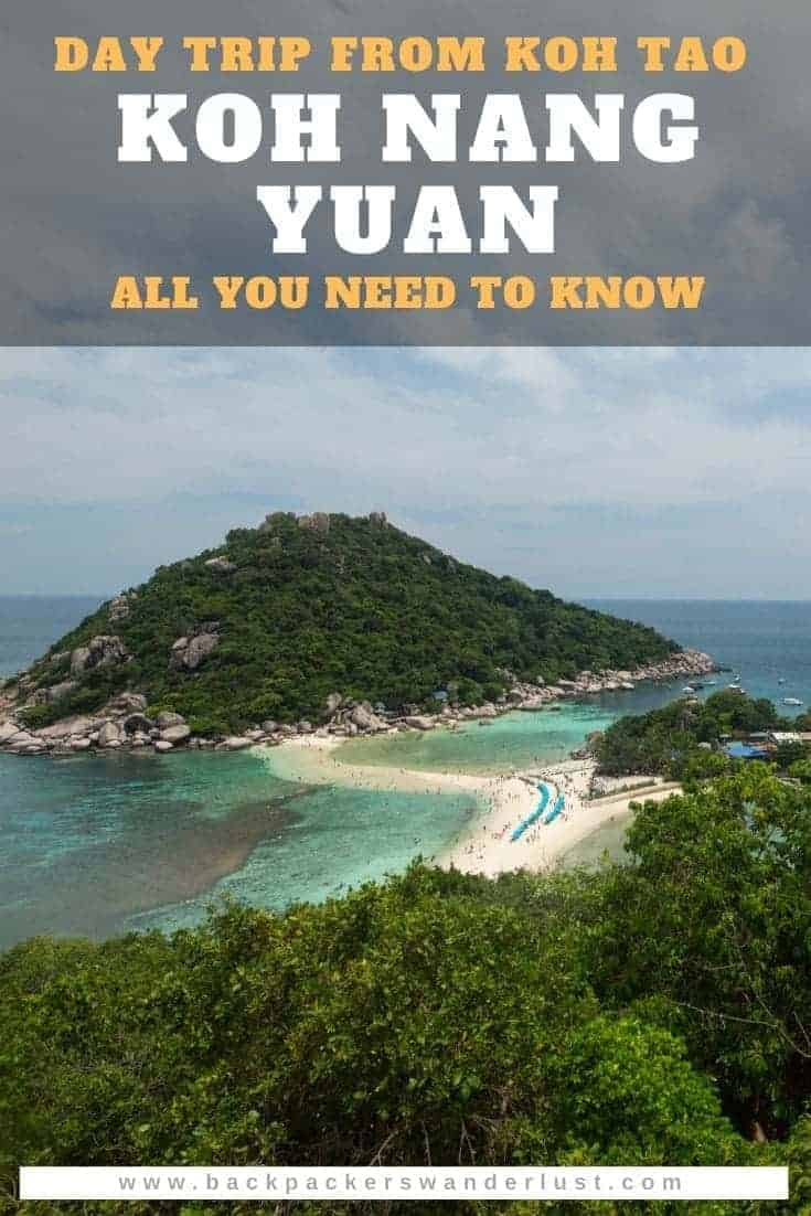 Find out everything you need to know about Koh Nang Yuan Island in Thailand. From how to get there, what to do, where to stay, and other important tips for visiting! Check out how to make the most out of your visit to Koh Nang Yuan!
