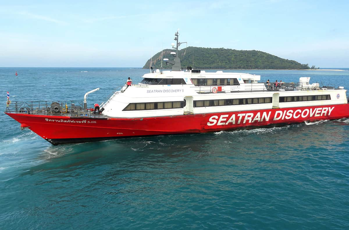 seatran discovering ferry