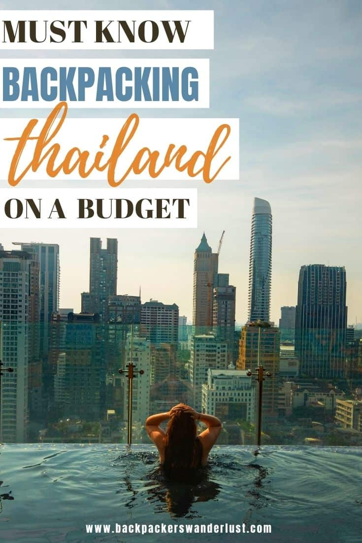 Find out everything you need to know for backpacking Thailand on a budget. Learn about the best travel tips, money, important information, top places to see, and more in this guide on the ultimate backpacking destination, Thailand!